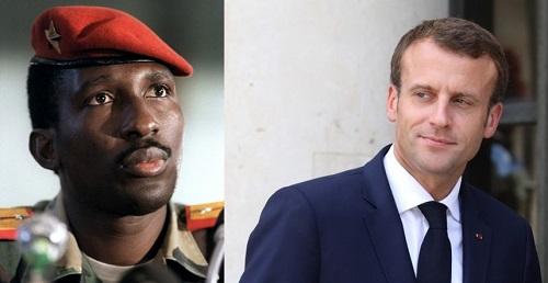 France: Macron vient de déclassifier une partie du dossier Sankara
