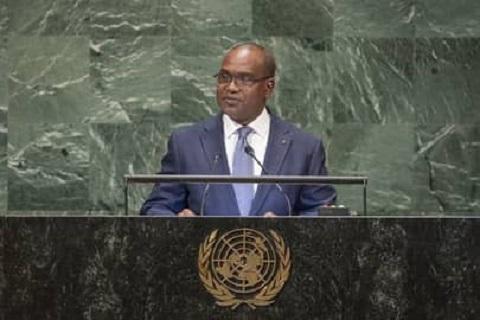 ONU: «La réforme du Conseil de sécurité  va réparer une injustice faite à l'Afrique» , Alpha Barry, ministre des Affaires étrangères du Burkina Faso