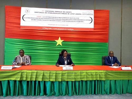 Gestion des finances publiques: Les agents comptables des Etablissements publics de l'Etat en conclave à Ouagadougou