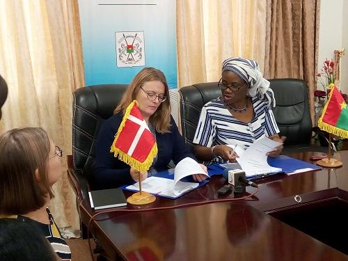 Mobilisation des ressources fiscales intérieures: Le Danemark  au chevet du Burkina Faso
