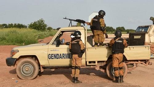 Burkina: Un gendarme tué et un autre blessé dans une attaque du détachement de la Gendarmerie de Inata