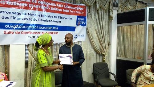 Burkina Startups: 28 jeunes verront leurs projets financés
