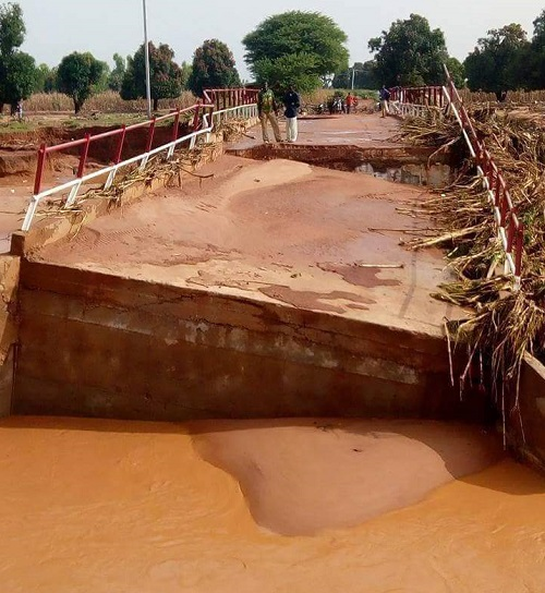 Région des Hauts-Bassins: Le pont de Banakeledaga emporté par les eaux quelques mois après sa construction