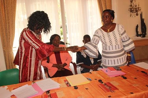 Ambassade du Burkina Faso à Bruxelles: Une nouvelle trésorière prend fonction à l'ambassade, bilan positif pour son prédécesseur