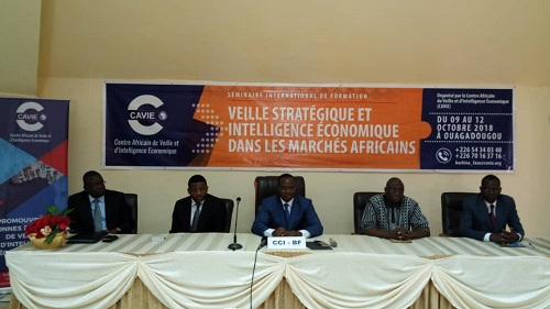 Burkina: Des experts  s'imprègnent de l'intelligence économique des marchés africains