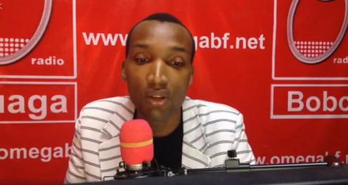 Hyacinthe  SANOU: Portait d'un jeune journaliste passionné de son métier