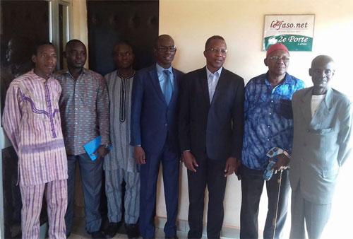Médias: Le Conseil supérieur de la communication rend visite au Faso.net