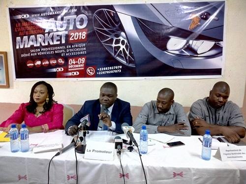 «Auto market»: Bientôt, un marché de l'automobile au Burkina