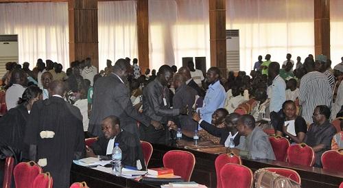 Procès du putsch manqué: Les avocats de Adama Ouédraogo dit Damiss soulèvent une exception