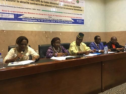 Fonds fiduciaire du Codex Alimentarius: Le Burkina bénéficie d'une deuxième phase