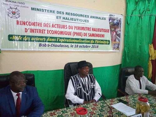 Barrage de Samendeni: Des acteurs échangent sur l'opérationnalisation du Périmètre halieutique d'intérêt économique