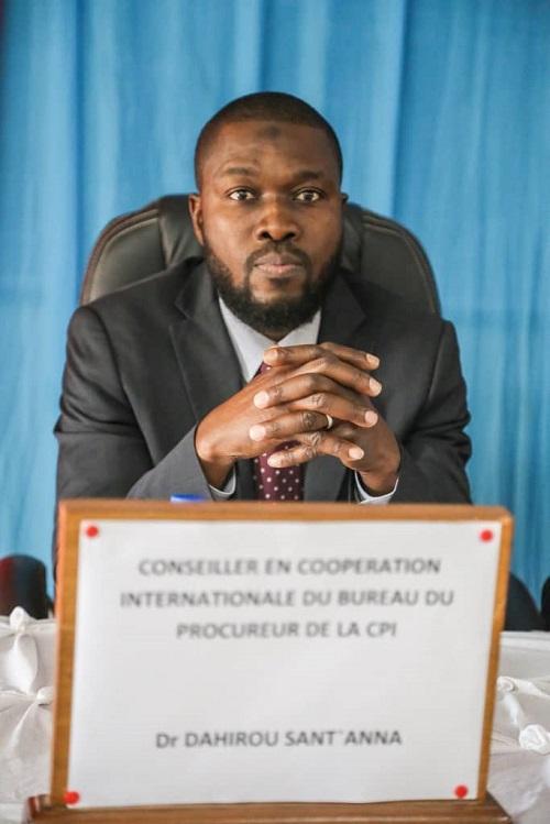 Dahirou Sant-Anna, conseiller au Bureau du procureur de la CPI: Onze situations sous enquête et 32 mandats d'arrêt délivrés