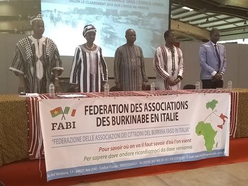 Célébration de la Journée du Burkina Faso en Italie