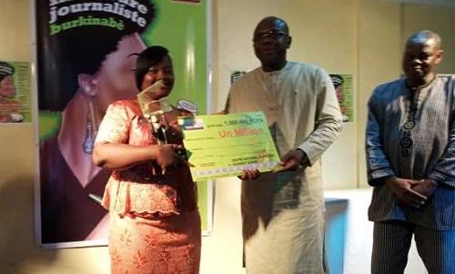 Meilleure journaliste  burkinabè  2018: Emeline Zougmoré de la RTB-radio est la grande lauréate