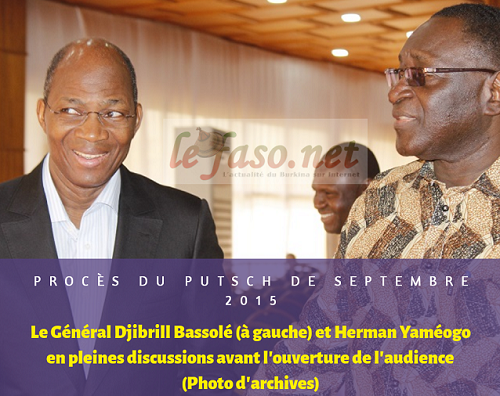 Coup d'Etat de septembre 2015: Une légitime défense du RSP, selon Me Hermann Yaméogo