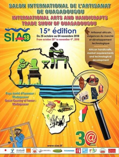 SIAO 2018: Permettre aux artisans de vivre de leur métier