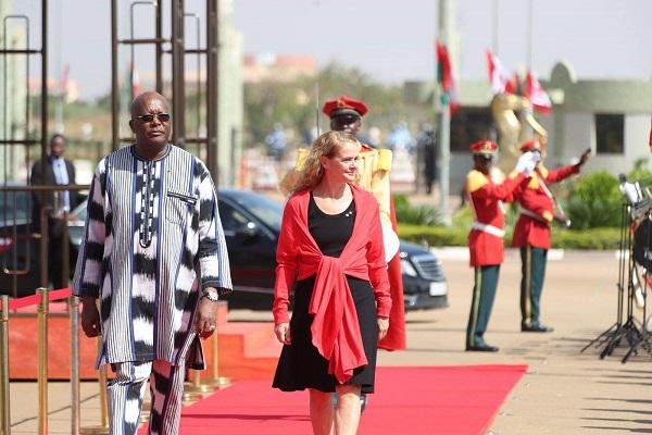 Accueil de la gouverneure générale du Canada: le président du Faso plaide pour un soutien au G5 Sahel