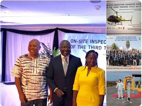 Diaspora: L'Organisation du Traité d'Interdiction Complète des essais nucléaires compte dans ses rangs deux inspecteurs burkinabè