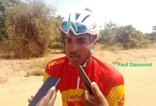 Tour du Faso 2018: «J'ai plutôt bien vécu ma première expérience», Paul Daumont