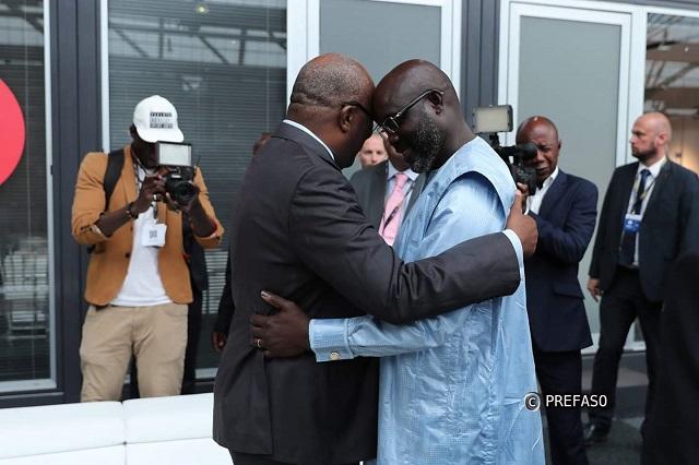 Le président Georges Weah attendu à Ouagadougou