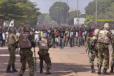An 4 de l'insurrection populaire: Le triomphe de la loi du plus fort