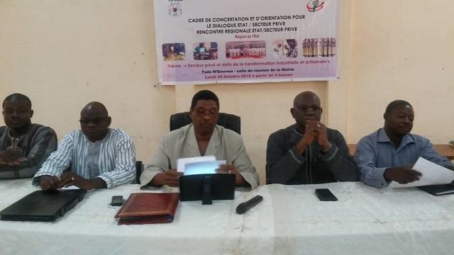 Région de l'Est: Les autorités administratives et les acteurs économiques se concertent