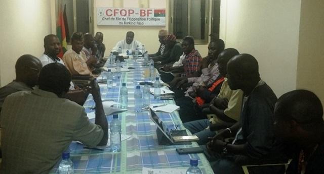 Burkina&nbsp;:  Le CFOP salue le professionnalisme et la<br> maturité de tous les commissaires de la CENI