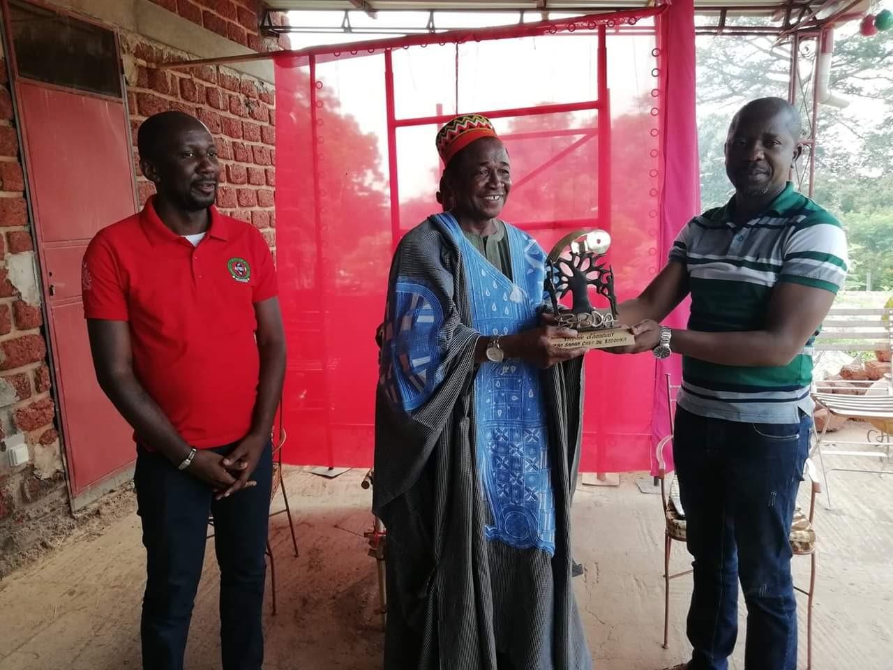 Un trophée d'honneur à Naaba Saaga 1er