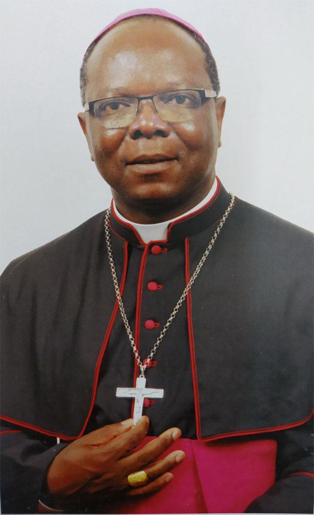 Messe d'action de grâce de Mgr Prosper Ky à Toma