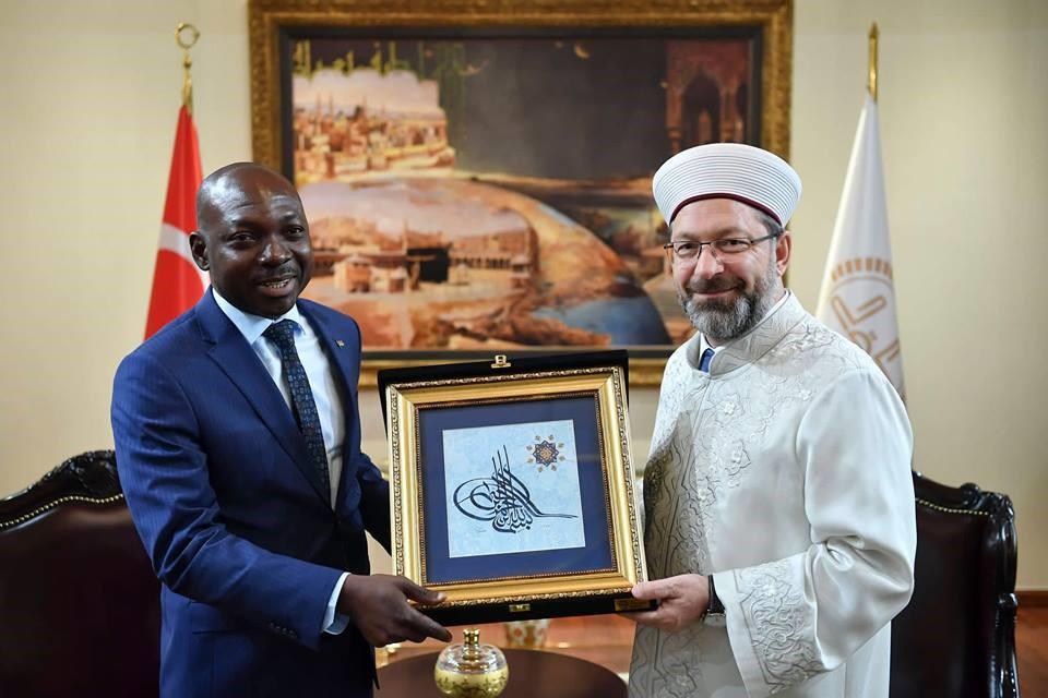 Coopération turquo-burkinabè: Le nouvel ambassadeur Brahima Séré a rencontré la communauté burkinabè de Turquie