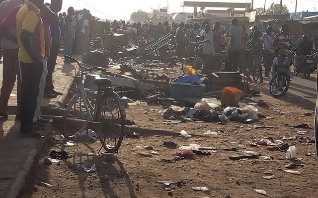 Ouagadougou: Un accident de la circulation fait trois morts et sept blessés graves