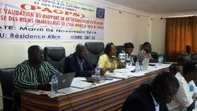 Patrimoine immobilier de l'Etat: Il existe désormais un recensement géo-référencé pour les bâtiments et les terrains à Ouagadougou