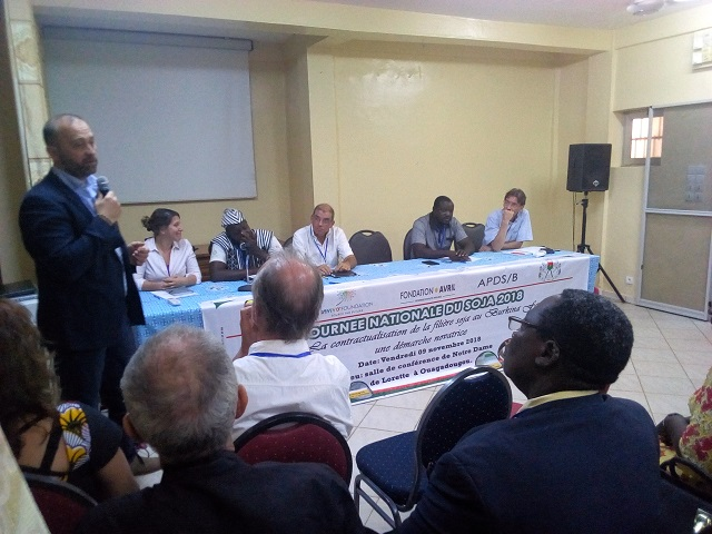 Journée nationale du soja: Pour un renforcement de la filière au Burkina