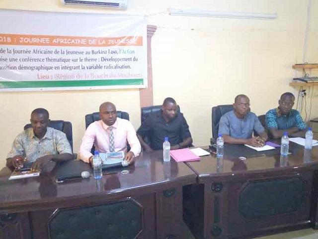 Journée africaine de la jeunesse au Burkina: Action jeunesse UEMOA outille les jeunes de la Boucle du Mouhoun
