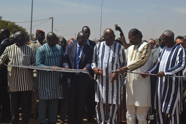 Ouagadougou: L'échangeur du Nord officiellement ouvert à la circulation