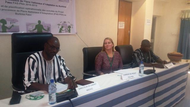 Environnement: Renforcer les capacités du Burkina pour lutter contre les effets néfastes de changements climatiques