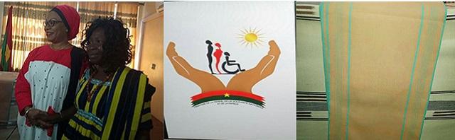 8 mars 2019: Le motif de pagne tissé de Nathalia Nikiéma désigné pagne officiel au Burkina