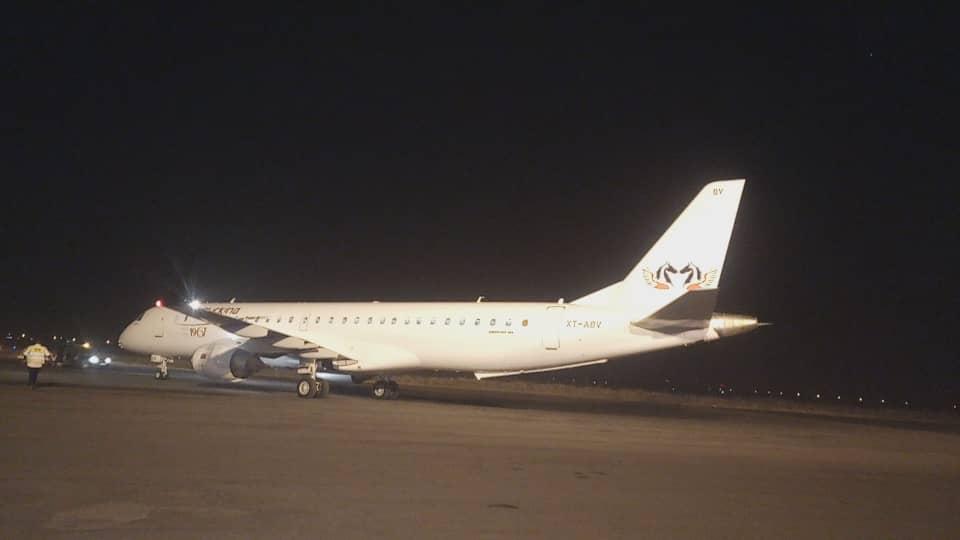 Transport aérien: L'un des nouveaux avions d'Air Burkina est arrivé à Ouagadougou