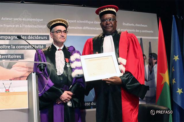 Burkina-France: Le président Roch Kaboré fait Docteur honoris causa de l'Université de Bourgogne