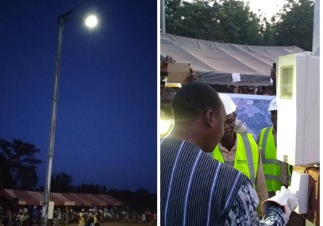 Commune de Bobo-Dioulasso: Les villages de Dafinso et de Santidougou bénéficient désormais de l'électricité