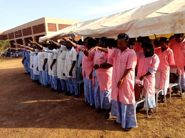 Ecole privée de santé Sainte-Edwige: La 6e promotion de l'annexe de Dédougou prête serment