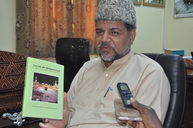 Mouloud: Les explications de l'Amir Mahmood Nasir Saqib