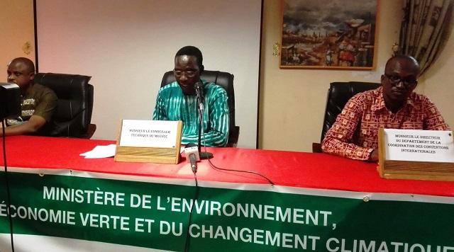 Ministère de l'Environnement: Les participants à la COP 24 se préparent