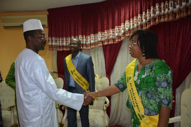 Audience parlementaire: Alassane Bala Sakandé reçoit «Publicitaires associés» et l'ambassadeur de Russie au Burkina