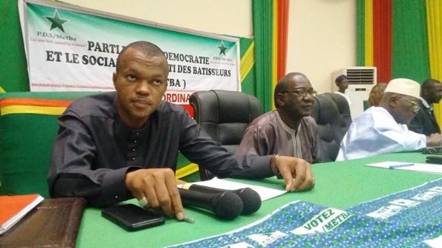 Politique: Le PDS/Metba se prépare pour les élections de 2020