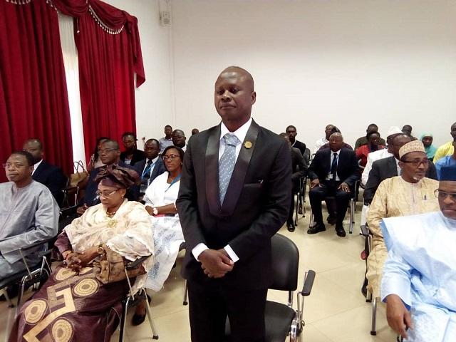 Commission de l'UEMOA: Le nouveau commissaire Joâozinho Mendes, prête serment