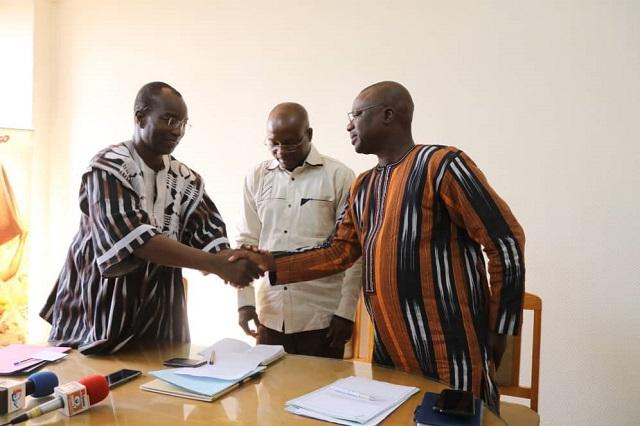 Office national du tourisme burkinabè: Nelson Congo installé dans sa nouvelle fonction de directeur général