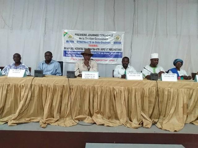 Bobo-Dioulasso: Le syndicat des travailleurs des collectivités territoriales fait le bilan de ses activités
