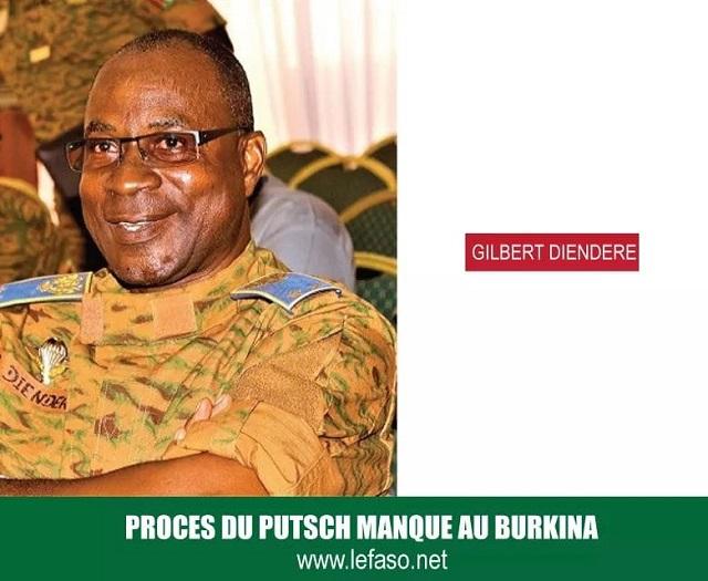 Procès du putsch du CND: Le Général Diendéré se demande où se trouvent certaines armes de l'ex-RSP