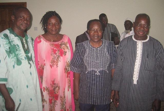 Perspective 2020: Les Burkinabè du Ghana ont reçu la visite d'une délégation de la CENI